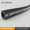 EN 856 4SP Wire Spiral Hydraulic Rubber Hose