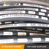 SAE100 R2AT 2 Stainless Steel Wire Reinforced Braided Hydraulic Rubber Hose