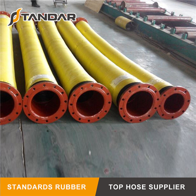Pressure Colorful Industrial Sand Suction Rubber Hose