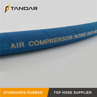Pressure Flexible Hydraulic Rubber Air Compressor Hose