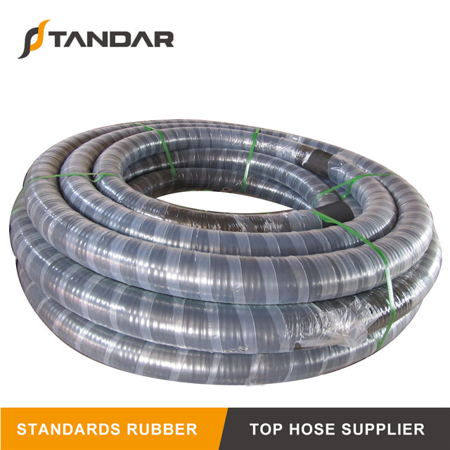 High Pressure Textile Braid Industrial Rubber Water Hose