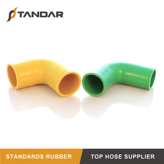 custom Low Temperature Colorful Elbow Silicone hoses