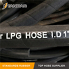 High Pressure steel Wire Braided reinforced Hydraulic Rubber Parflex compressed natural gas CNG Hose asembly