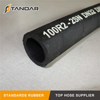 SAE100 R2AT High Pressure Flexible Hydraulic Rubber Hose