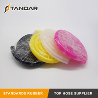 FDA High Temperature Transparent platinum cured soft thin wall Food Grade Silicone rubber tubing