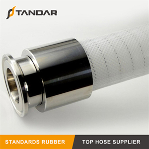 4-Ply Fabric braided Reinforced clear thin wall platinum cured food grade Silicone tubing