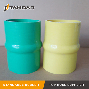 High Pressure reinforced braided Colorful Straight Hump Auto Silicone Hose