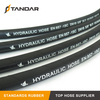 EN857 1SC High Pressure Single Stainless Steel Wire Braided Reinforced Hydraulic Hose
