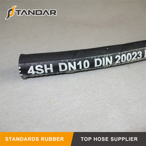 Flexible Wire Spiral EN856 4SH Hydraulic Hose