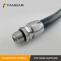 JIS K6343 Steel Wire Braided reinforced Hydraulic rubber Gasoline Hose
