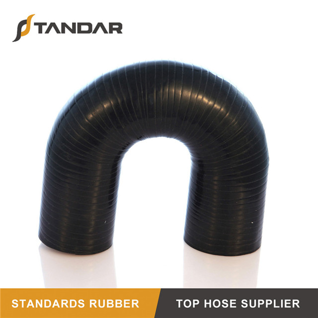 180 Degrees Low Pressure U Shape Elbow Silicone Hose