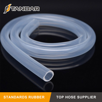 Low Pressure clear soft Flexible Medical Grade Silicone Hose