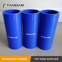 High Pressure Straight Coupler reinforced soft Silicone tubing