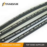EN857 1SC High Pressure Wire Braid Reinforced Hydraulic Rubber Hose