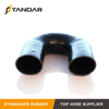 high Pressure Braided reinforced 180 Degree Elbow Silicone tubing