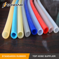 High Temperature FDA Flexible clear Platinum-Cured beverage Grade Silicone Hose