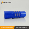 Flexible Smooth Cover Hump Steel Wire Silicone radiator Hose