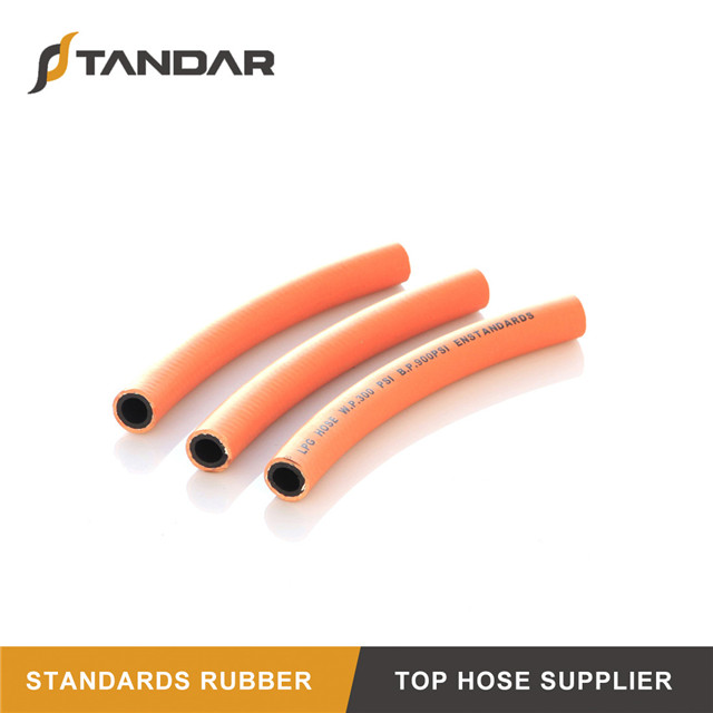 Low Pressure bulk flexible Rubber propane LPG natural gas Hose