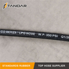 EN 853 1SN Cryogenic Composite Rubber Flexible Liquid Natural Gas LNG Transfer Hose
