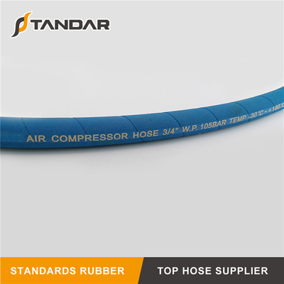 Pressure Wire Braided Hydraulic Rubber Air Compressor Hose