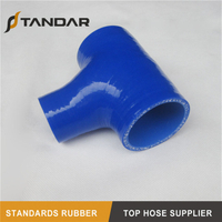 Flexible High Temperature T-shape Silicone Hose