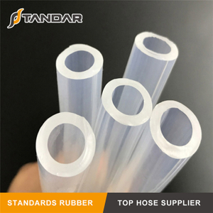 transparent soft thin wall platinum cured high temperature Medical Grade Silicone vacuum Tubing
