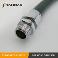 EN 1360 High Pressure Hydraulic rubber gates blacksnake Gasoline Hose