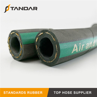 High Temperature Wire Braid Industrial Rubber Water Hose