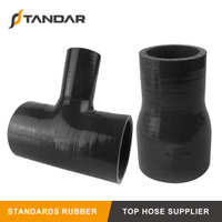 High Pressure Braided T-Shaped Silicone Radiator Hose for Auto Parts