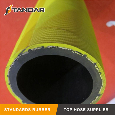 Industrial Corrugated UHMWPE Crush and Kink Resistant Chemical Suction and Discharge Hose