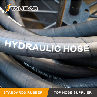 High Pressure Flexible Hydraulic Rubber Low Temperature Hose