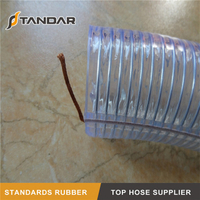 Flexible PVC Anti-Static Spiral Steel Wire Hose