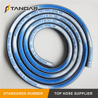 High Pressure Rubber Washer Hose for Car Wash
