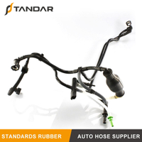 1574T2 Fuel Line With Hand Fuel Primer Pump For Peugeot 206 307