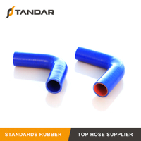 Flexible 95 Degree Polyester Reinforced KAMAZ 21-1303010 Silicone Radiator Hose