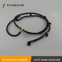 6420701332 Fuel Injector Return Overflow Hose Line Fit For Mercedes Benz