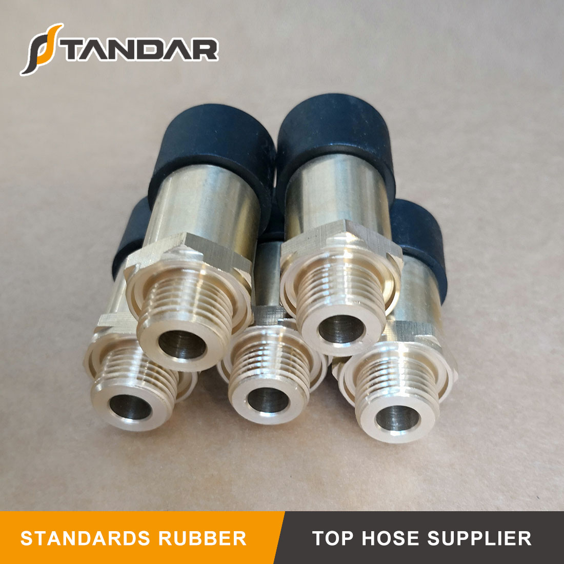 Automobile Brass Nylon Quick Coupling PA Hose For Pneumatic System
